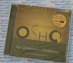 Osho No Dimensions Meditation  music by Shastro and Sirus