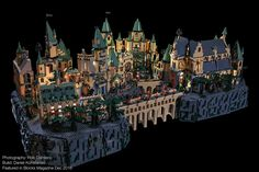 https://flic.kr/p/QNXVEA | Blocks Mag: Harry Potter Hogwarts 01 | It's been a while since I've posted anything. I've been super busy during the holidays. But today I want to share with you a few my favorite photos I took for the Harry Potter Hogwarts feature in the December 2016 issue of Blocks Magazine. The Hogwarts build itself was a combination of official LEGO sets and MOC's built by Block's very talented Daniel Konstanski and photographed by yours truly. Hope you enjoy!