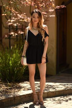 Just Jessica Ricks Jessica Ricks, Beautiful Young Lady, Gorgeous Women, Casual Outfits, Fashion Outfits, Womens Fashion, Hapa Time, Black Playsuit, Elegant Outfit