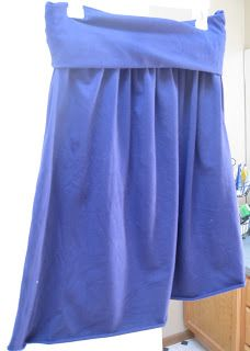 Gathered Yoga Skirt Tutorial