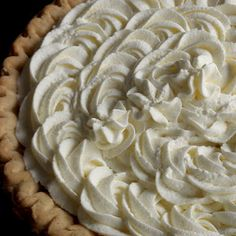 Stabilized Whipped Cream Frosting keeps its shape all day by adding gelatin and powdered sugar to the whipping cream.