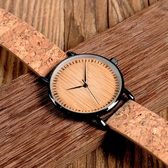 Unisex Green Hour Hands Bamboo Wooden Watch – Earthmade Goods Co. Ale, Wooden Watches For Men, Leather Watch Bands, Beautiful Watches, Quartz Watch, Wood Watch, Vintage Designs, Bamboo, Luxury