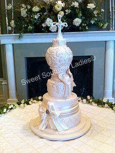 Elegant Spherical wedding cake