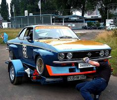Rad Racer — 1974 Opel Manta A-Series