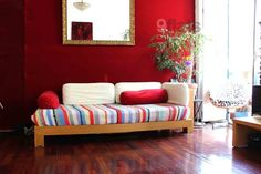 Lisbon Groovy Funky Bairro Alto Abode Lovely living room, modern with retro touches Lisbon Guide, Private Room, Couch, Vacation, Living Room, Cool Stuff, Retro, City, Modern