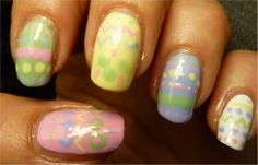 [The Rainbow Ladies 2.0] Easter colors