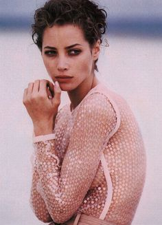 Vogue US - Second Skin - Christy Turlington - Apr 1990