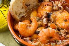 Receita de Bouillabaisse em receitas de sopas e caldos, veja essa e outras receitas aqui!