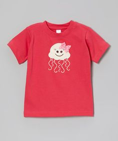 Another great find on #zulily! Fuchsia Jelly Fish Tee - Toddler by Petunia Petals #zulilyfinds