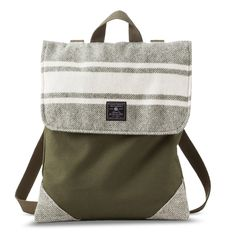 Faribault for Target Wool and Canvas Convertible Backpack - Cannon Stripe