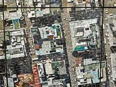 4 vertical aerial sculptural aerial mosaic of johannesburg by gerhard marx spier architectural arts Sculptural Aerial Mosaic of Johannesburg. Stone Mosaic, Mosaic Art, Mosaic Tiles, Johannesburg Africa, But Is It Art, Satellite Maps, Aerial Images, South African Artists, Colossal Art