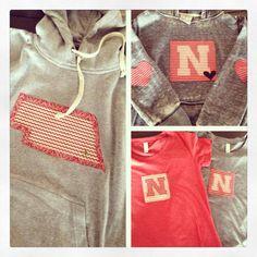 New Nebraska designs! Call us now to order: 402.421.0125