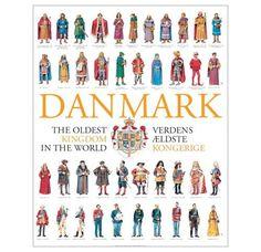 Kongerækken - plakat Gorm den Gamle er den første konge af 41 regenter, som er afbildet på vores kongerækkeplakat. At han fremhæves som den første konge skyldes, at han er den første, der nævnes i samtidige, danske skriftlige kilder, nemlig de to runesten i Jelling. Gorm var gift med Thyra og far til Harald Blåtand. Og både far og søn var involveret i opførslen af de forskellige monumenter i Jelling. Gorm regerede indtil sin død omkring 958 e.Kr., hvorefter Harald Blåtand overtog magten og r Danish Christmas, Scandinavian Christmas, Danish Language, Danish Vikings, Some Beautiful Images, Viking Art, Teaching History, Coat Of Arms, Military History