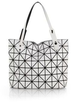 Rock East-West Faux-Leather Zip Tote