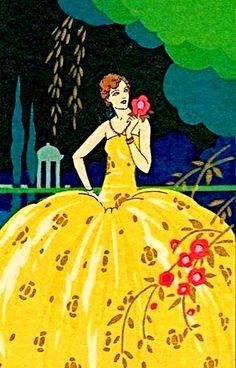 Start with Sunset — Giovanni Meschini Fashion Illustration Collage, Art Deco Illustration, Vintage Illustrations, Vintage Images, Vintage Posters, Vintage Art, Vintage Pictures, Art Deco Cards, Antique Paint