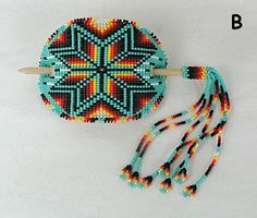 Native American Beaded Bracelets | ... made and hand beaded by a Lakota artist from Pine Ridge, South Dakota