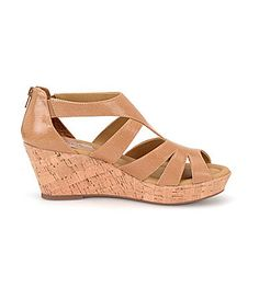 db860a203218 Softspots Rhode Platform Wedge Sandals  Dillards