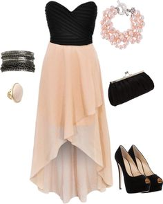 I loveeeeeee high low dresses