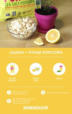 Ready-To-Eat Popcorn - Boomchickapop Healthy Popcorn, Flavored Popcorn, Gourmet Popcorn, Popcorn Recipes, Sweets Recipes, Just Desserts, Cooking Recipes, Popcorn Bags, Sweet Tea