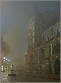 Misty Night, Krakow, Poland Copyright: Jacek Madej