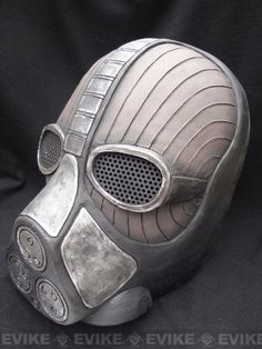 """LimitedLimited Edition Evike Custom Airsoft Wire Mesh """"Reaper"""" Mask Inspired by… Apocalypse, Airsoft Helmet, Helmet Paint, Cool Masks, Military Gear, Wire Mesh, Character Costumes, Motorcycle Helmets, Paintball"""