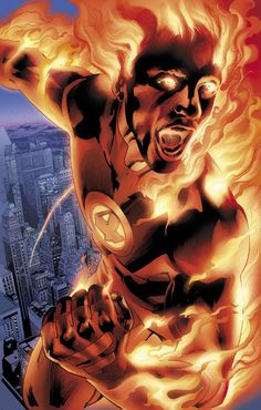 Human Torch #invisiblewoman #humantorch #fantasticfour
