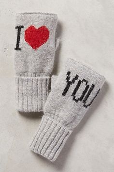 With Love Fingerless Gloves - anthropologie.com #anthrofave