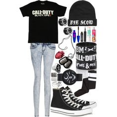 Call Of Duty, Black Ops II ; Gamer Girl.. Cool.. If you minus out so many god damn accessories.. Jasuss.