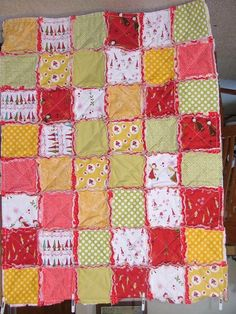 Looking for quilting project inspiration? Check out Another Rag Quilt by member anytimeshirl. - via @Craftsy