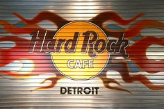 Hard Rock Cafe Detroit in the Compuware Building.