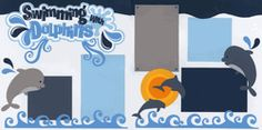 Swimming With Dolphins Page Kit