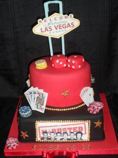 Vegas/McBusted theme cake :)