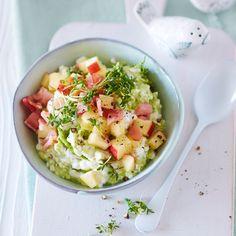 Plats Weight Watchers, Weight Watchers Meals, Pesto, Ham, Potato Salad, Nom Nom, Salsa, Brunch, Snacks