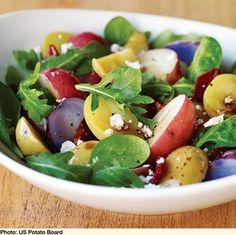 Mediterranean Savory Salad | Oldways