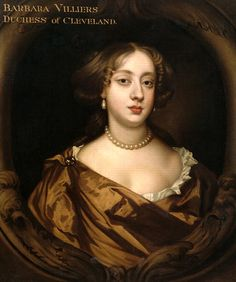 Barbara Villiers, Duchess of Cleveland, mistress of Charles II