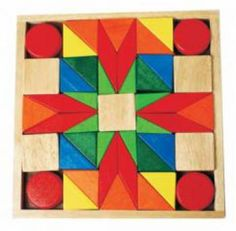 Wooden Block Set 45