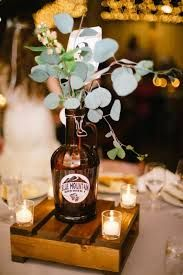 Image result for growler wedding centerpieces