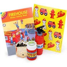 Firefighter Favor Kit (for 1 Guest) - Party Favors & Party Supplies @Dre Sardo