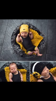 Newborn wrestling wrestler Iowa Hawkeyes singlet photography #wildphotography   Www.facebook.com/wildphotographybytori  Adorable singlet by Mildred Rose (facebook)