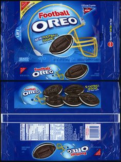 Nabisco - Oreo - Football limited edition - cookie package #UltimateTailgate #Fanatics