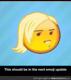 They should make this a new emoji