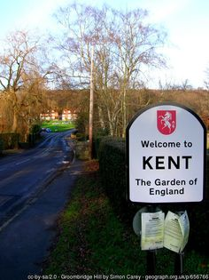 Welcome to Kent, The Garden of England