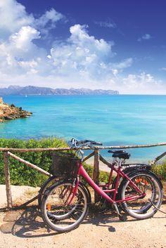 Alcudia Mallorca Playa de S Illot transparent turquoise water