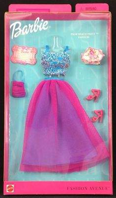 Barbie Fashion Avenue Metro Styles Palm Beach Party Fashion NRFB