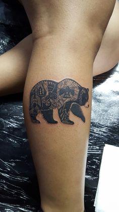California bear tattoo Ig : primo_ak47