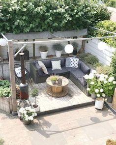 Schöne Gärten für kleine Räume Design-Ideen die Sie inspirieren #gardendesignideas #lovelygarden GoFaGit.Com  GoFaGit.Com