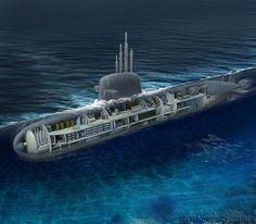 Submarino Nuclear Brasileiro - ilustração (2011) | Flickr – Compartilhamento de fotos!