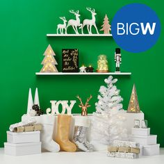 Give Big For Less this Christmas with decorations, lights, trees, confectionary or the latest in home entertainment. Shop in-store or online at BIG W.
