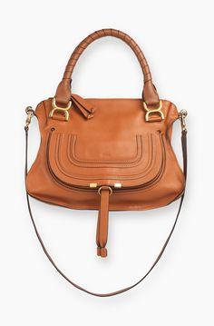Chloe Marcie Small Leather Satchel: SGD$3,001 | Lustlist - Bags ...