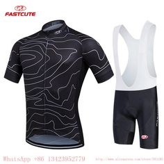 Multicolor Cycling set with Short Sleeve Jersey 9c112977b